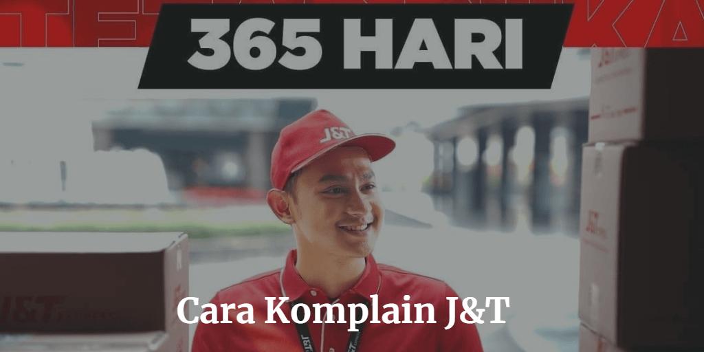 cara komplain j&t customer service
