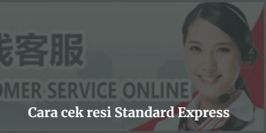 cek resi standard express china