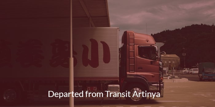 Departed from Transit Artinya